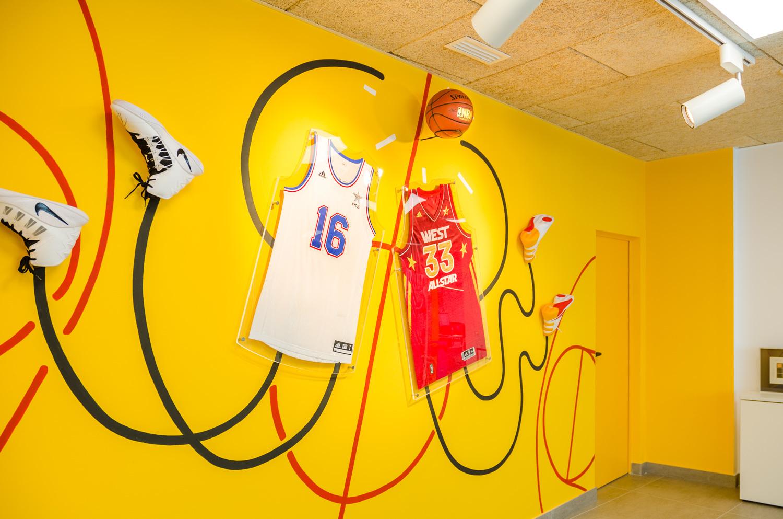 All Stars NBA installation - Iván Bravo